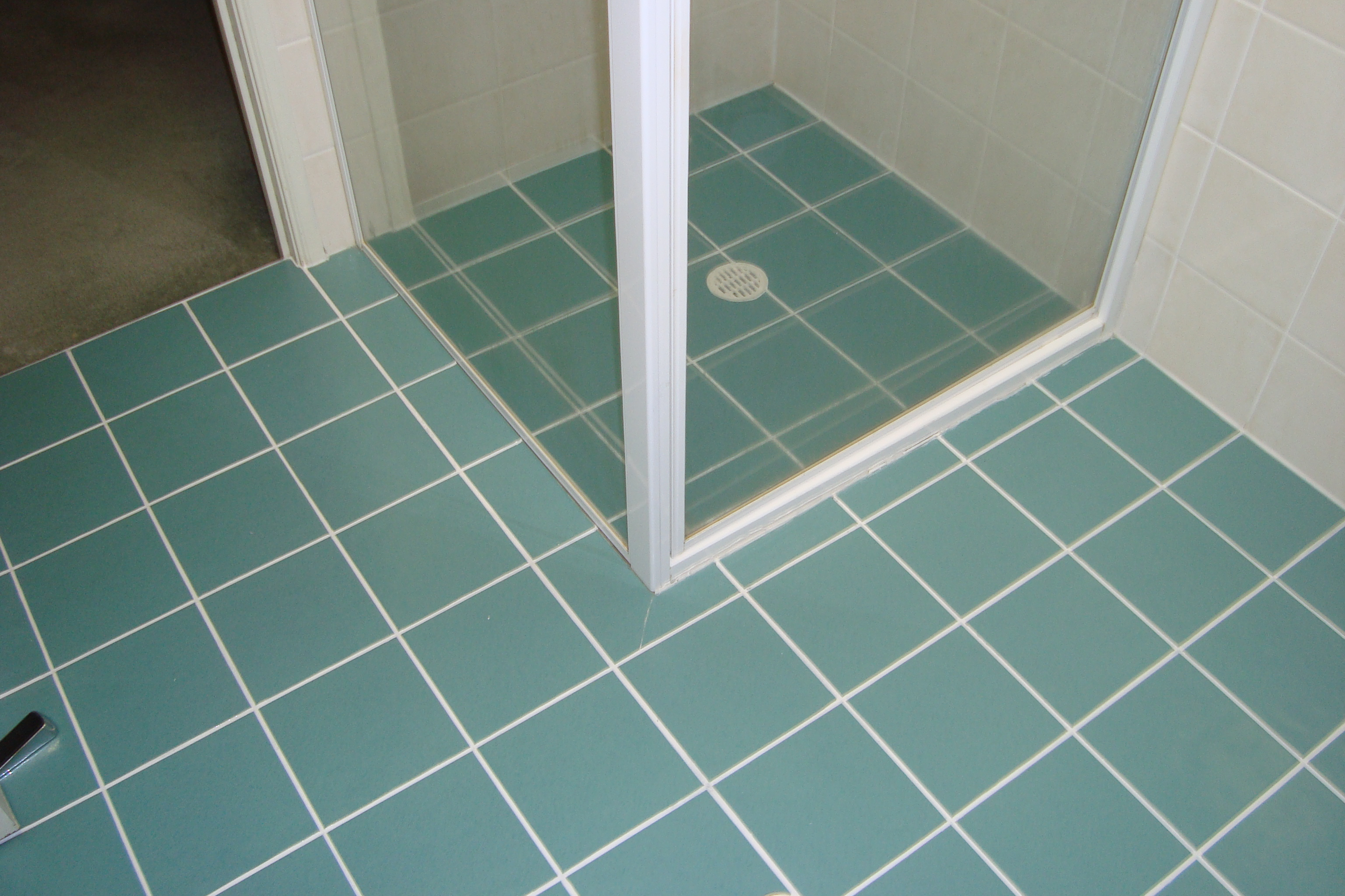 Bathroom Grout bathroom tile grout cleaning. then. scenes from 22 blue midcentury